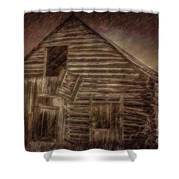 Barn Storm Shower Curtain