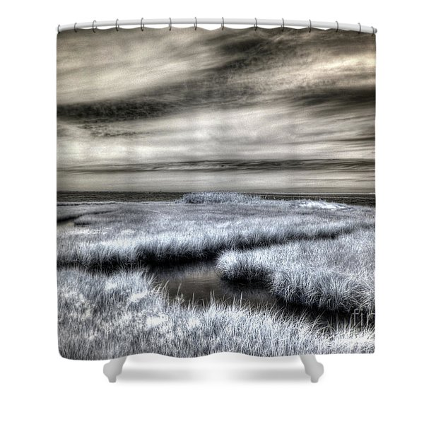 Barnegat Bay New Jersey Shower Curtain