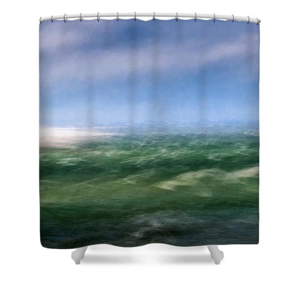 Barnstable Harbor 4 Shower Curtain