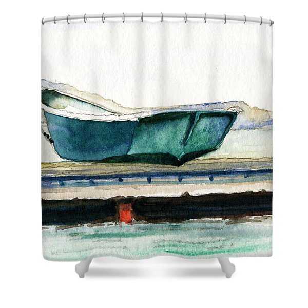 Barnstable Skiff Shower Curtain