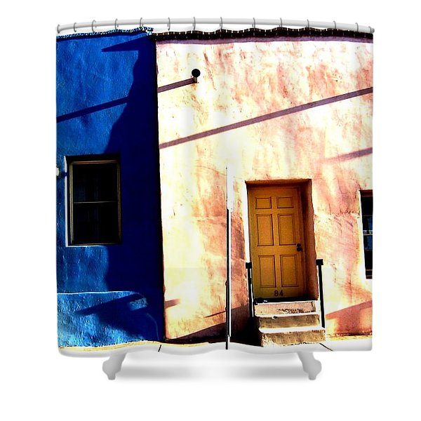 Barrio Viejo 1 Shower Curtain