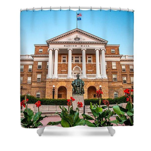 Bascom Hall Shower Curtain