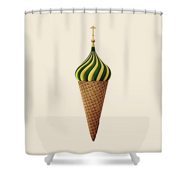 Basil Flavoured Shower Curtain