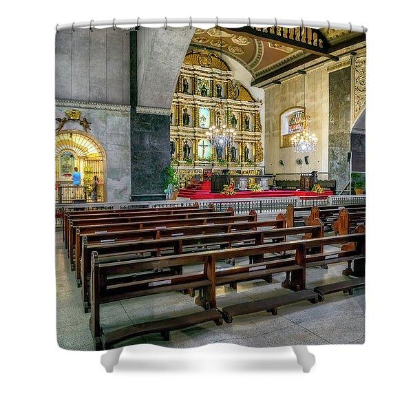Basilica Minore Del Santo Nino Shower Curtain