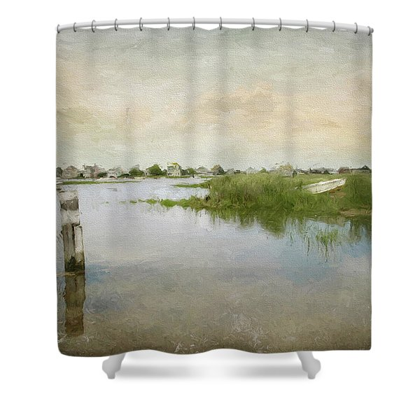 Basin Skiff Shower Curtain