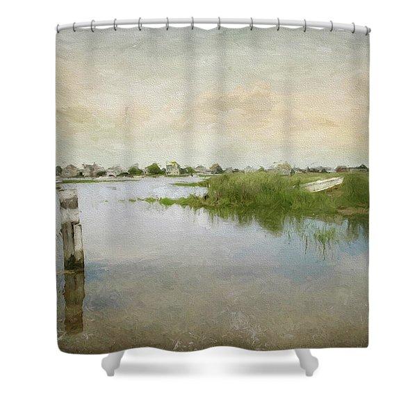 Basin Skiff Shower Curtain