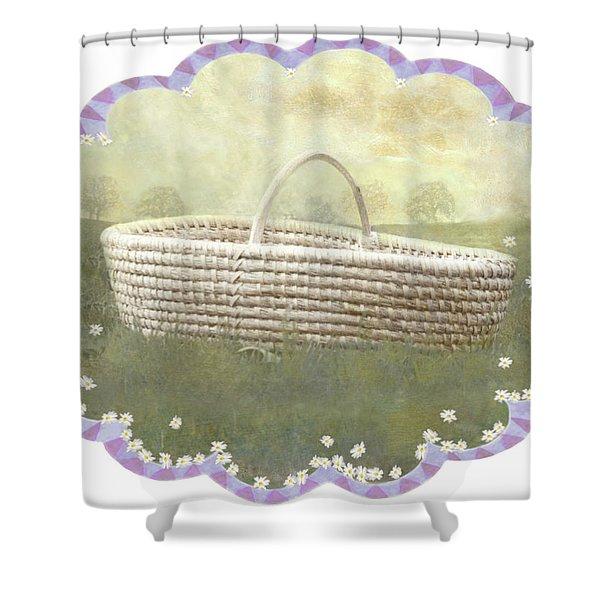 Basket Shower Curtain