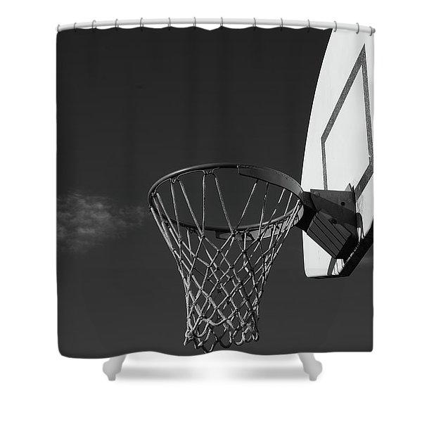 Basketball Court Shower Curtain