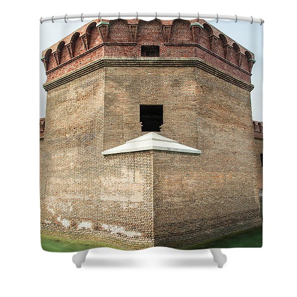 Bastion At Ft Jefferson Shower Curtain