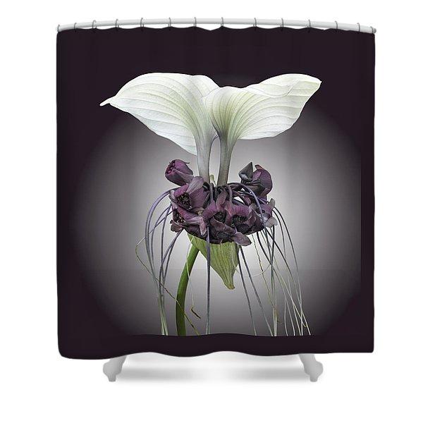 Bat Plant Shower Curtain