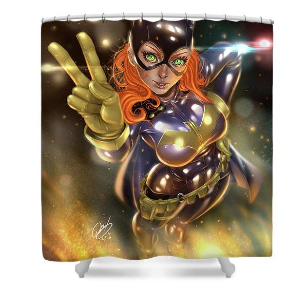 Batgirl Shower Curtain