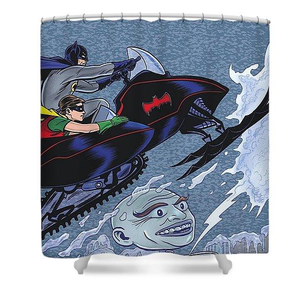 Batman '66 Shower Curtain