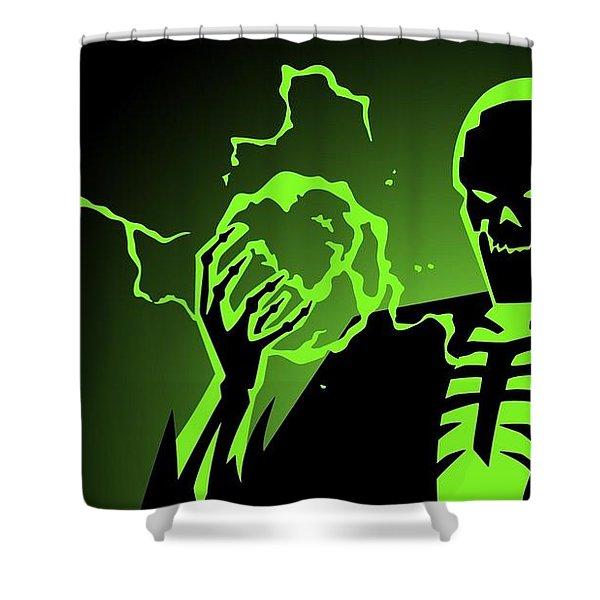 Batman Beyond Shower Curtain