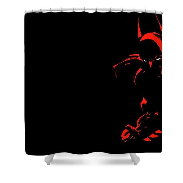 Batman Dark Victory Shower Curtain