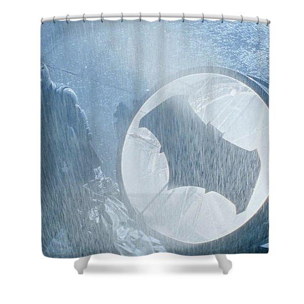 Batman V Superman Dawn Of Justice Shower Curtain