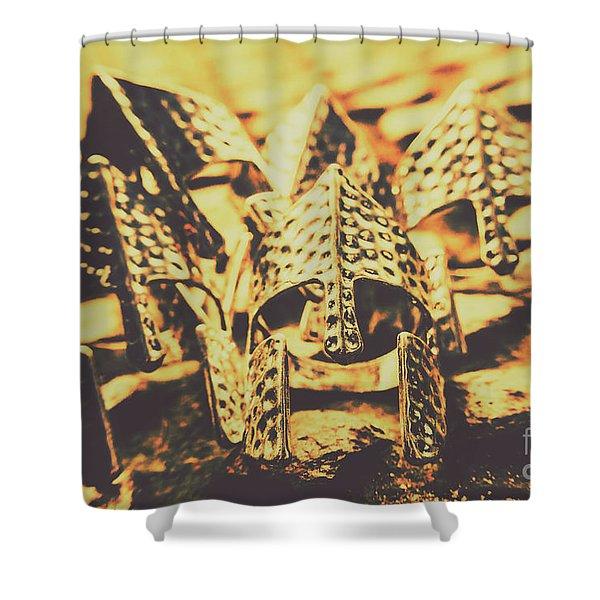 Battle Armoury Shower Curtain