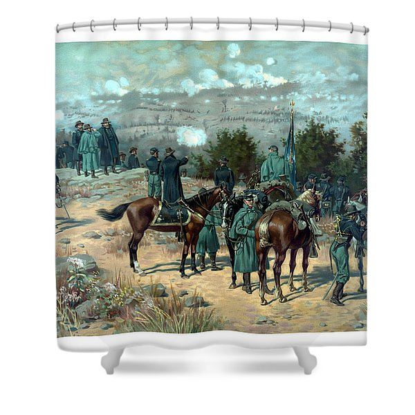 Battle Of Chattanooga Shower Curtain