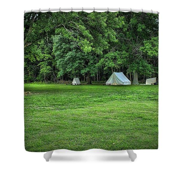 Battlefield Camp 2 Shower Curtain
