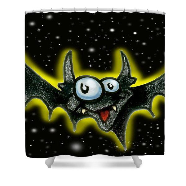 Batty Shower Curtain