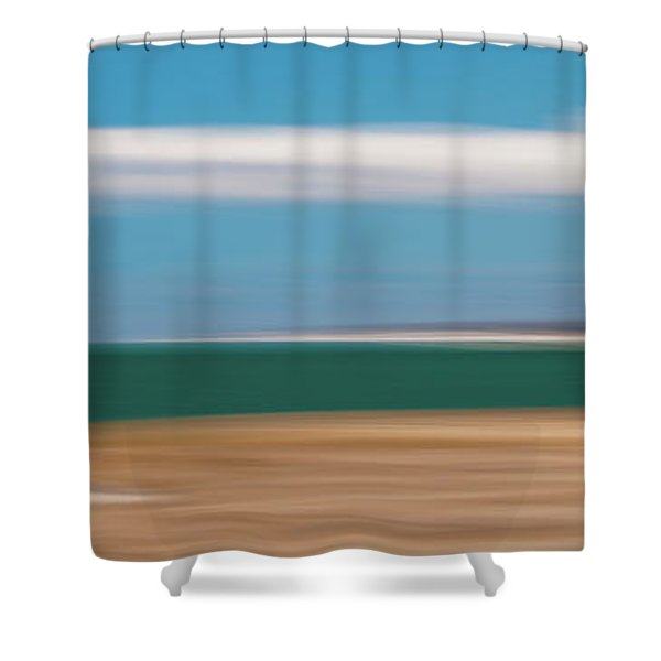 Bay Cloud Shower Curtain