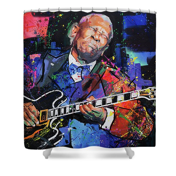 Bb King Shower Curtain