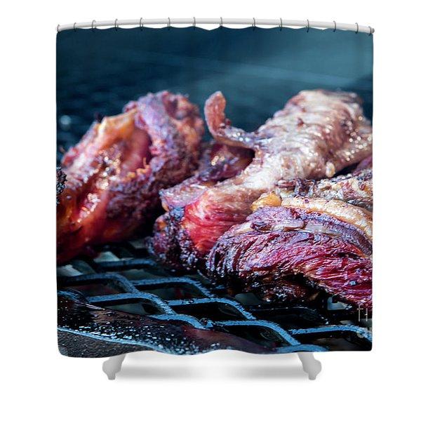 Bbq Beef 1 Shower Curtain