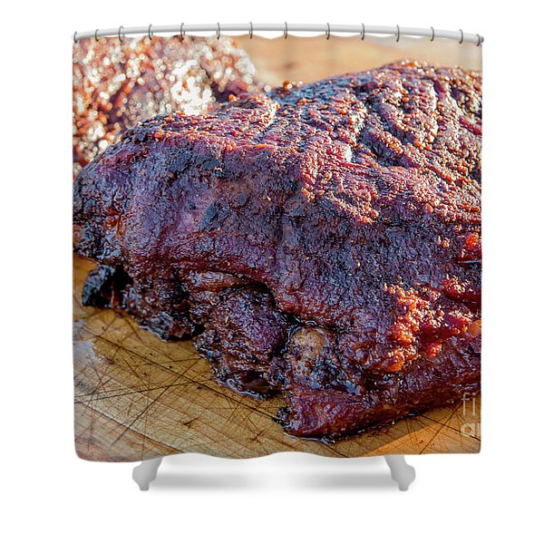Bbq Beef 2 Shower Curtain