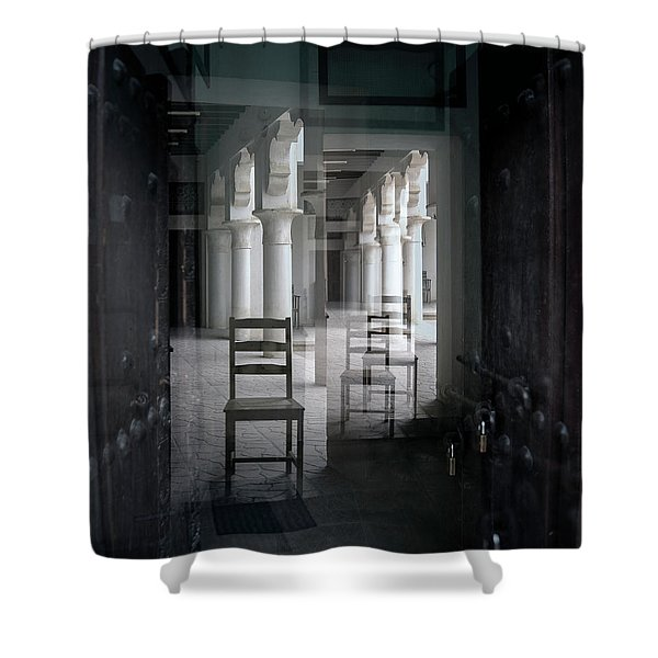 Be Seated Shower Curtain