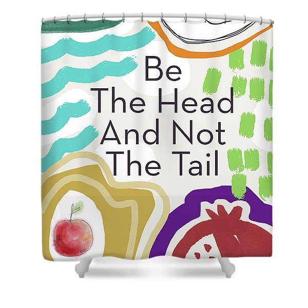 Be The Head- Art By Linda Woods Shower Curtain