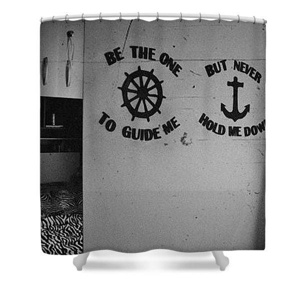 Be The One To Guide Me But Never Hold Me Down Shower Curtain