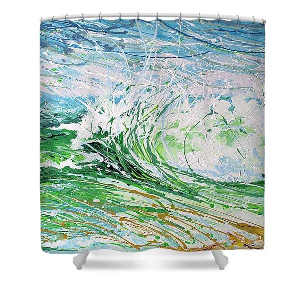 Beach Blast Shower Curtain