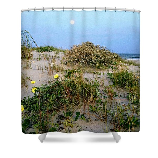 Beach Bouquet Shower Curtain
