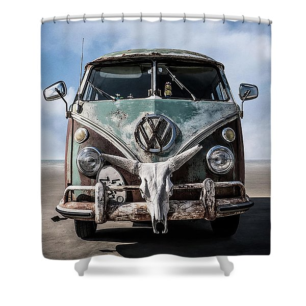 Beach Bum Shower Curtain