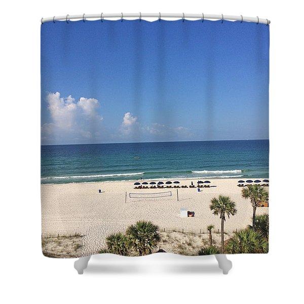 Beach Day Shower Curtain