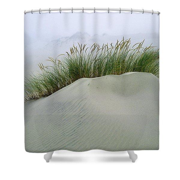 Beach Grass And Dunes Shower Curtain