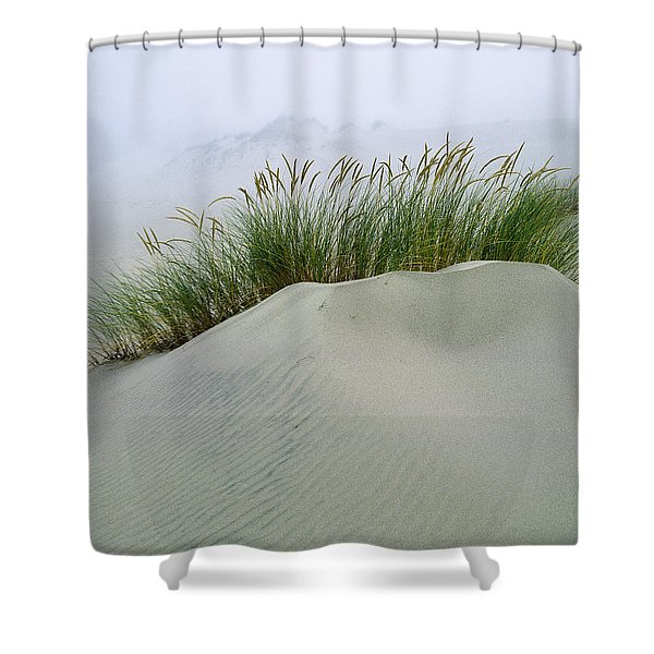 Beach Grass And Dunes Shower Curtain