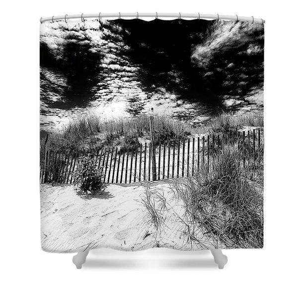Beach Haven Long Beach Island Shower Curtain