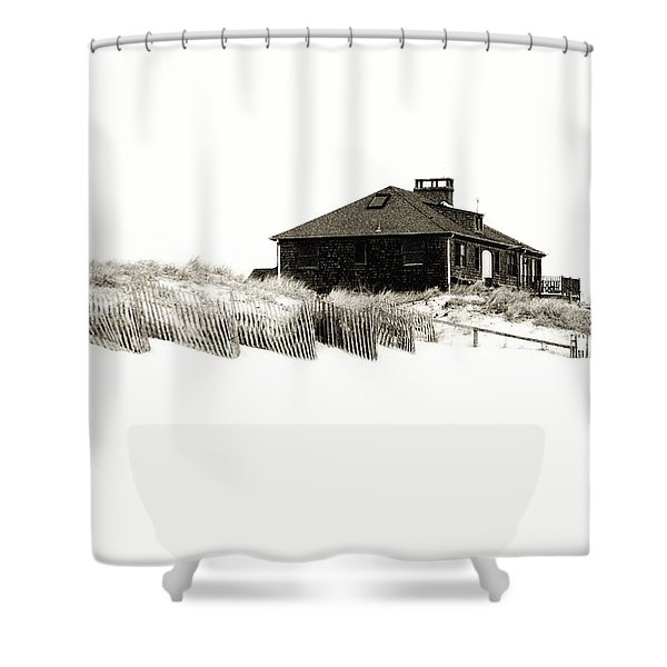Beach House - Jersey Shore Shower Curtain