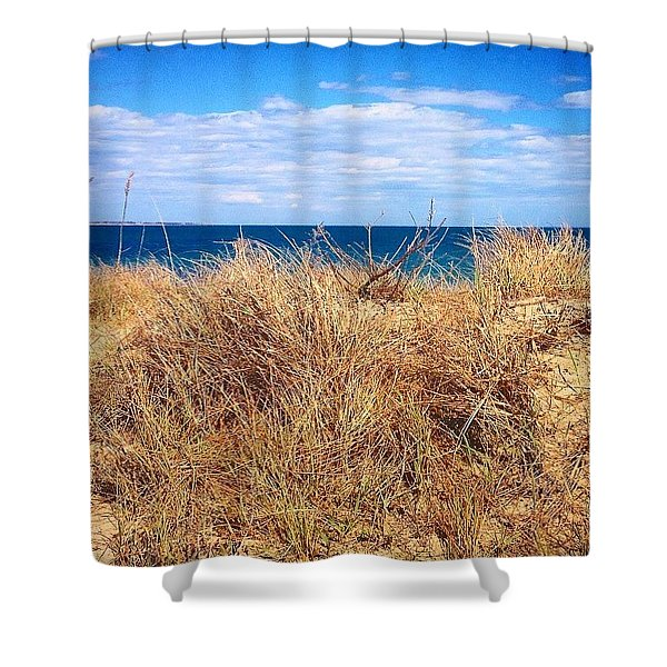 Beyond The Land Shower Curtain