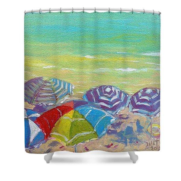 Beach Is Best Shower Curtain