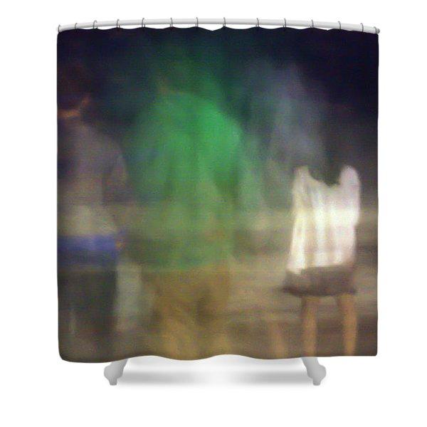 Beach Night 2 Shower Curtain