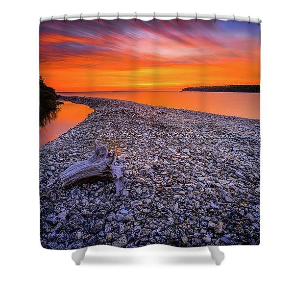 Beach Road Shower Curtain