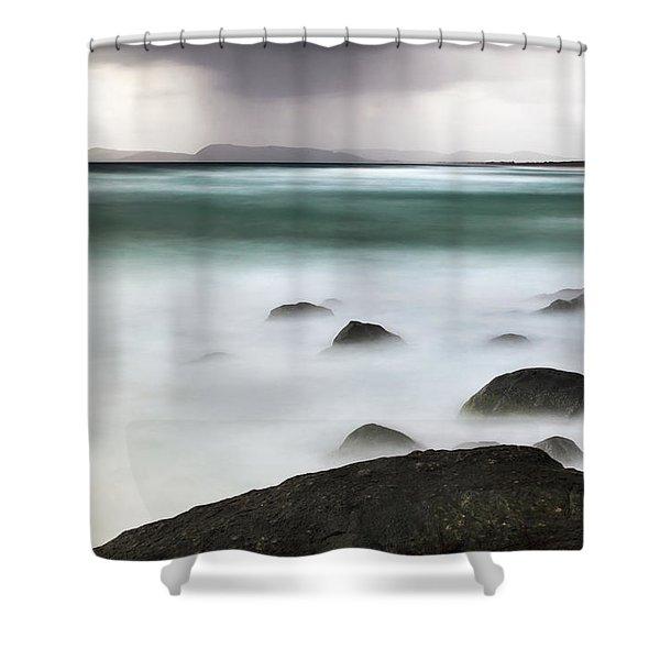 Beach Squall Shower Curtain