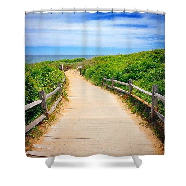 Cape Cod Paradise  Shower Curtain