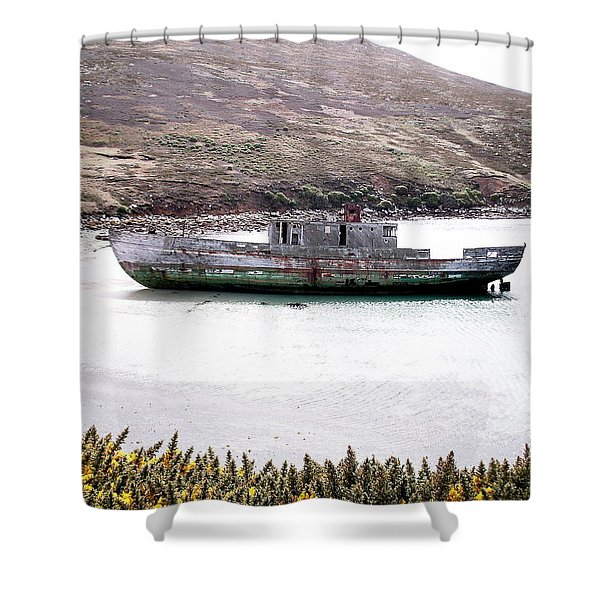 Beached Beauty Shower Curtain