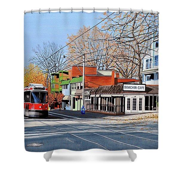 Beacher Cafe Shower Curtain