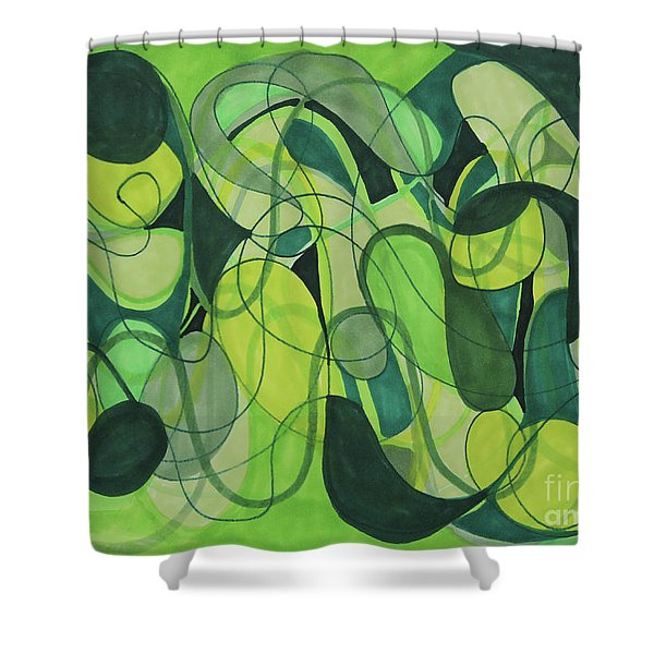 Beachy One Shower Curtain