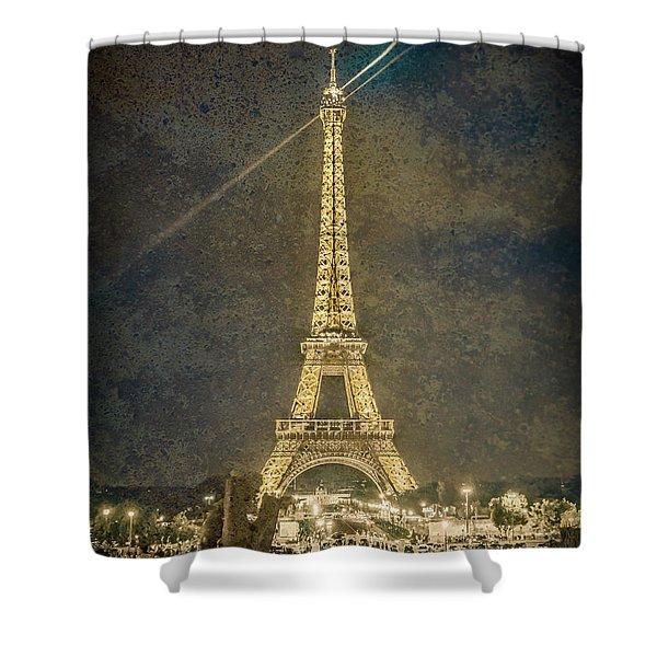 Paris, France - Beacon Shower Curtain