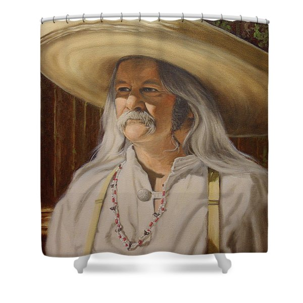 Bead Guy Shower Curtain