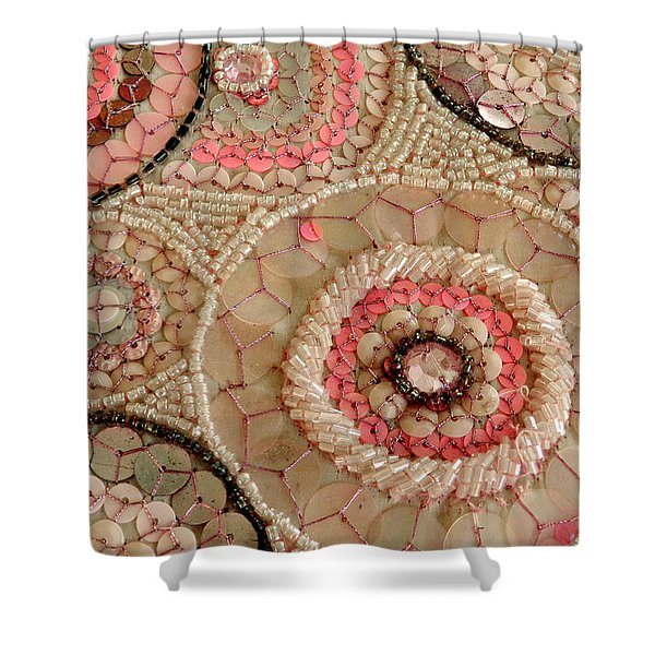 Beaded Design Shower Curtain
